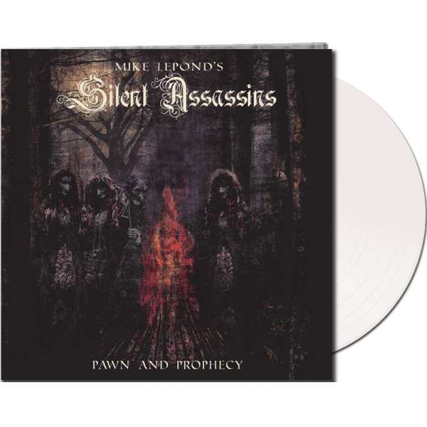 MIKE LEPOND'S SILENT ASSASSINS - Pawn And Prophecy - Ltd. Gatefold WHITE LP