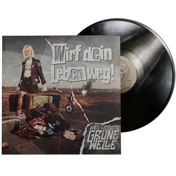 DIE GRÜNE WELLE - Wirf dein Leben weg! - Ltd. Gatefold BLACK LP