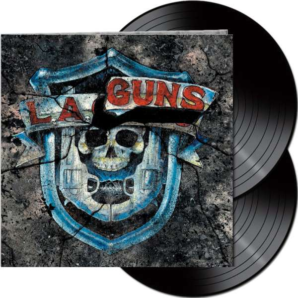L.A. GUNS - The Missing Peace - Ltd. Gatefold BLACK 2-LP