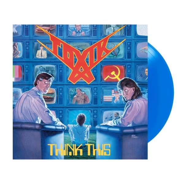 TOXIK - Think This - Ltd. BLUE/MÜRITZBLAU LP