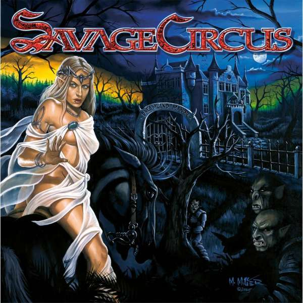 SAVAGE CIRCUS - Dreamland Manor CD