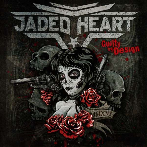 JADED HEART - Guilty By Design - CD Jewelcase