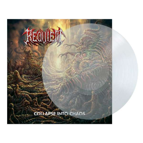 REQUIEM - Collapse Into Chaos - Ltd. CLEAR LP