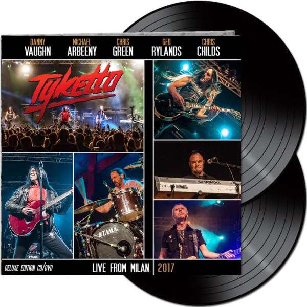 TYKETTO - Live From Milan 2017 - Ltd. Gatefold BLACK 2-LP