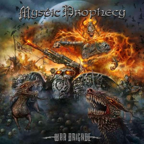 MYSTIC PROPHECY - War Brigade - CD Jewelcase