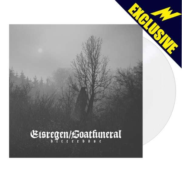 EISREGEN / GOATFUNERAL - Bitterböse - Ltd. WHITE LP - Shop Exclusive!