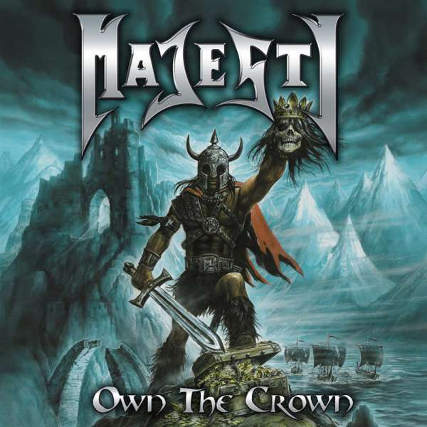 MAJESTY - Own The Crown - 2-CD Jewelcase