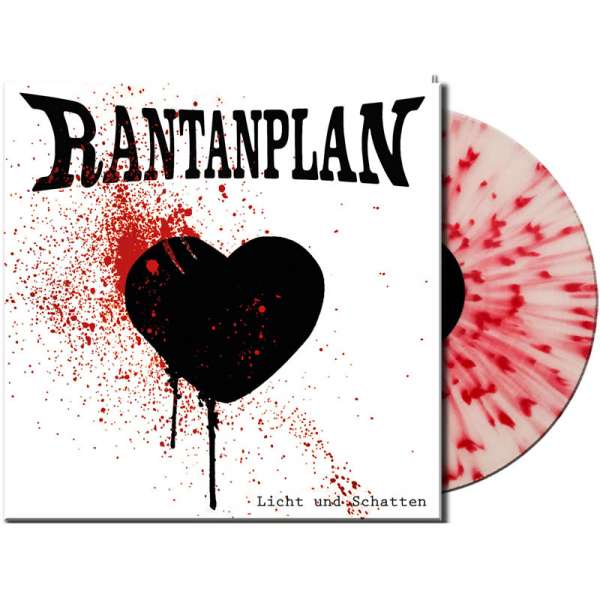 RANTANPLAN - Licht und Schatten - Ltd. Gatefold WHITE/RED SPLATTER LP