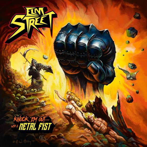 ELM STREET - Knock Em Out - With A Metal Fist - CD Jewelcase