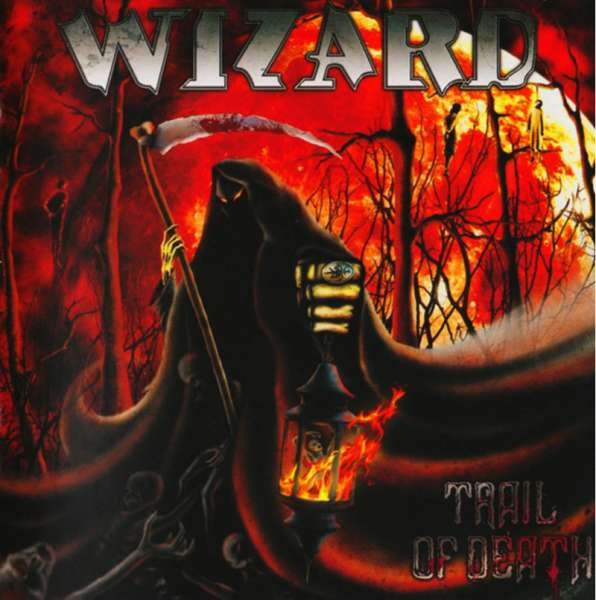 WIZARD - Trail Of Death - CD Jewelcase