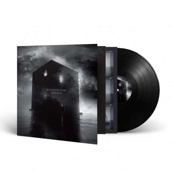 SECRETS OF THE MOON - Black House - Ltd. Gatefold BLACK LP