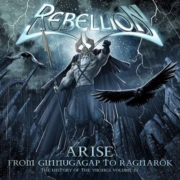 REBELLION - Arise: History Of The Vikings - Vol. 3 - CD Jewelcase