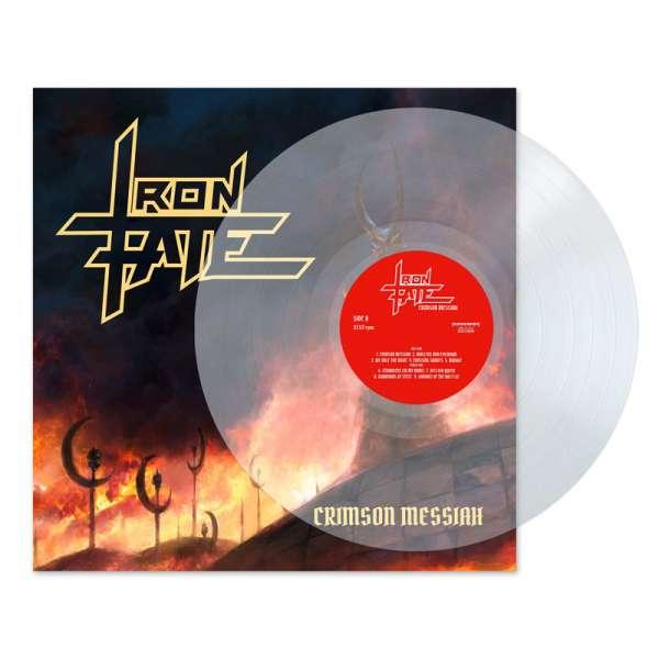 IRON FATE - Crimson Messiah - Ltd. CLEAR LP