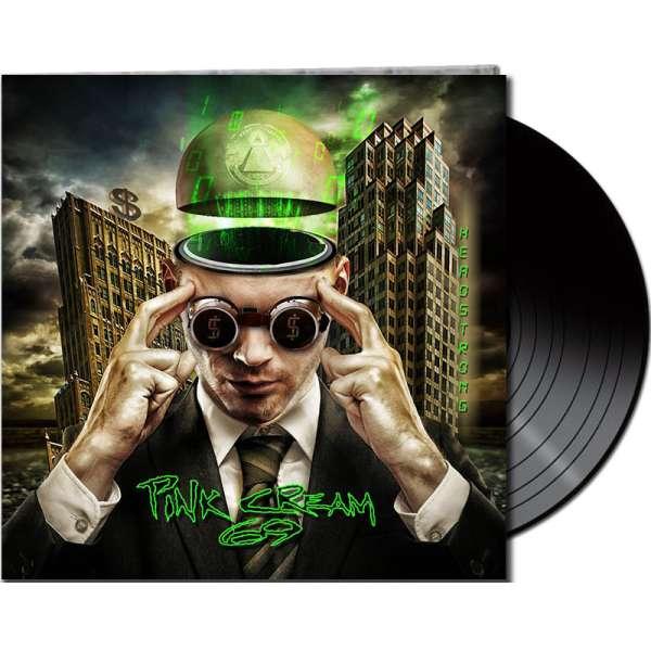 PINK CREAM 69 - Headstrong - Ltd. Gatefold BLACK LP