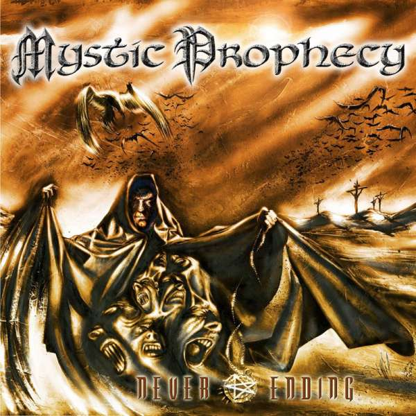 MYSTIC PROPHECY - Never Ending (Re-Release) - Digipak-CD